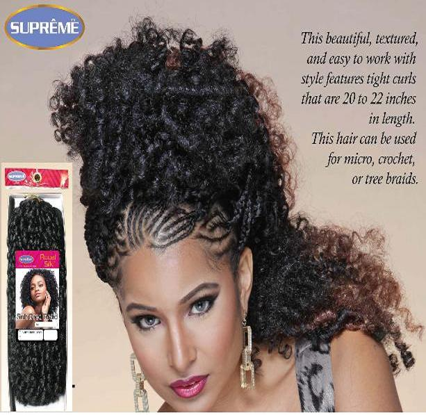 Soft Dred Braid-(Crochet Hair)-Supreme Collection