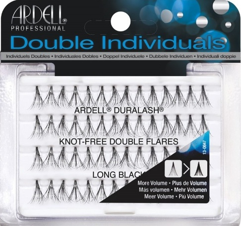b823df96e76 Ardell Duralash Natural Knot Free-Double Individuals Long Black-56 individual  lash clusters