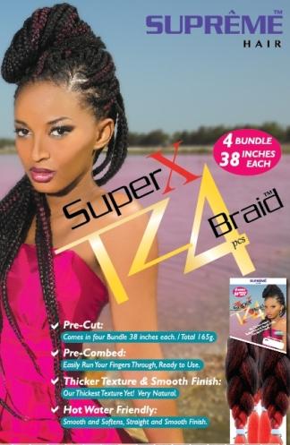 Super X TZ4 Braid (4 Bundles/Pack) , Supreme Collection