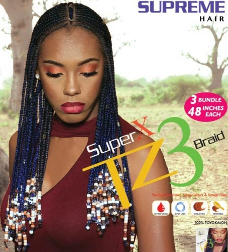 Super X TZ3 Braid (3 Bundles/Pack) - Supreme Collection