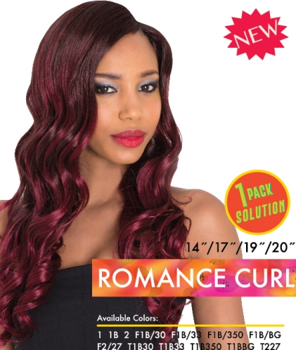 Synthetic Weaving - Romance Curl Weaving - 1 Pack Solution
