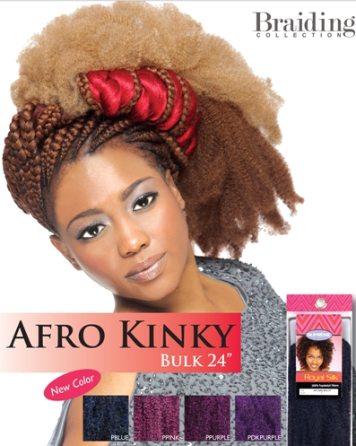 Afro Kinky Bulk 24 inch<BR><BR>Royal Silk Collection