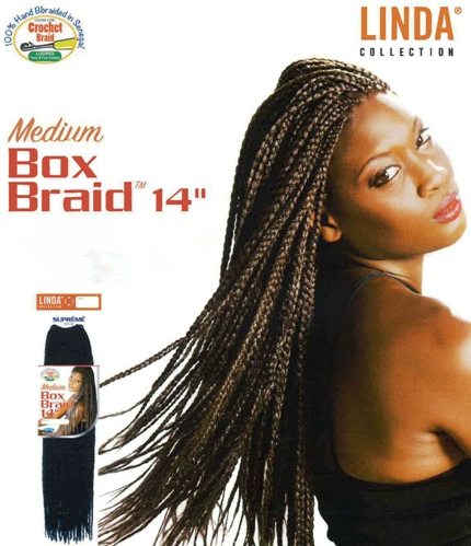 Medium Box Braids 14