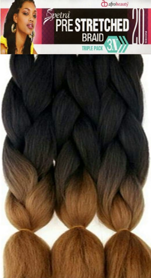 Pre-Stretched 3 Bundles Spetra Braid 20