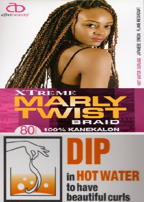 Extreme 80 inch<BR>Marley Twist Braid<BR>AfroBeautyCollection