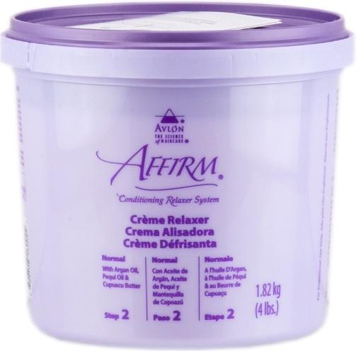 Affirm Creme Relaxer-Normal 4 Lbs