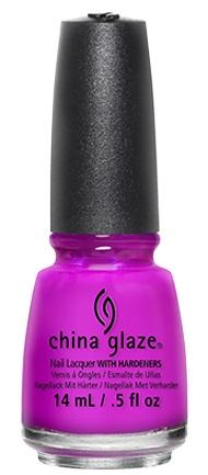 China Glaze Nail Lacquer Purple Panic
