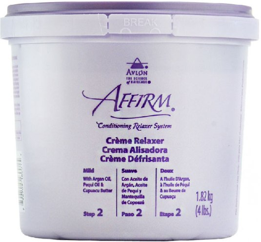 Affirm Creme Relaxer-Mild 4 Lbs