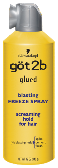 GOT2B BLASTING FREEZE SPRAY [GLUED] 12 OZ