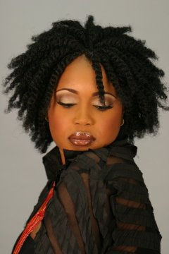 Afro Puffy Twist<BR>(Fluffy Twist)<BR>Nafy Collection
