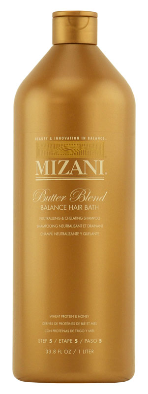 Mizani - Butter Blend Neutralizing Shampoo Balance Hair Bath - 33.8 oz (1 L)