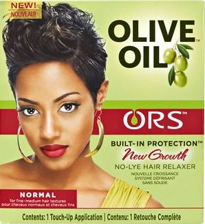 Olive Oil Built-In Protection-New Growth No-Lye Relaxer-Normal