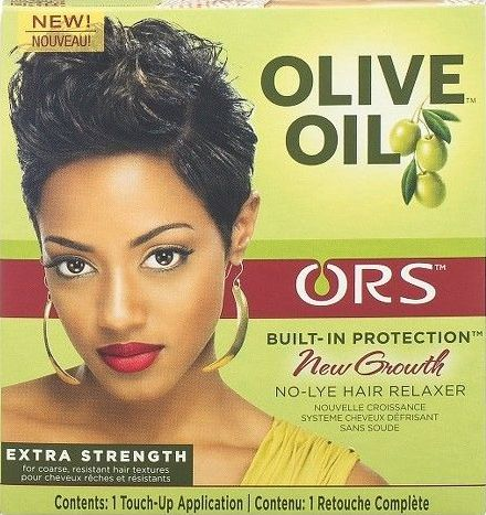 Olive Oil Built-In Protection-New Growth No-Lye Relaxer-Extra Strength