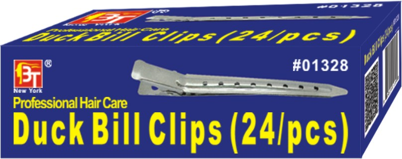 Duck Bill Clips 1.75 Inches - 24 Pcs