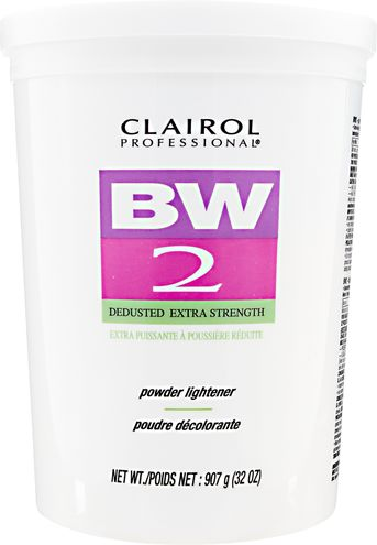 CLAIROL BW2 POWDER LIGHTENER - DEDUSTED EXTRA STRENGTH  32 OZ (2 LBS)
