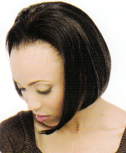 Synthetic Hair<BR>Half Wig<BR>CP 1000