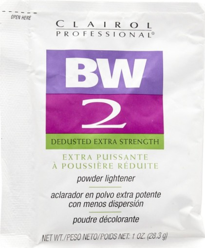 Clairol BW2 Powder Lightener - Dedusted Extra Strength 1oz