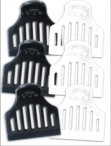 Jumbo Vent Clips 6/pk 3-Black & 3-White