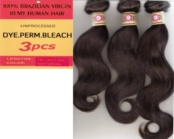 Brazilian Body Wave Weaving-3 Pieces: 10 12 14 inches