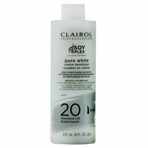 CLAIROL SOY 4 PLEX PURE WHITE CREME DEVELOPER 16 oz