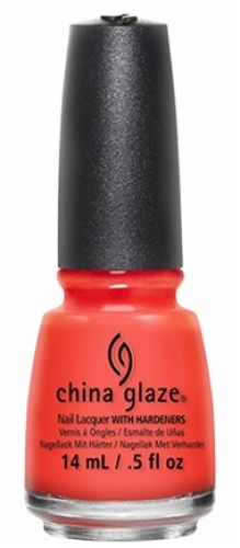 China Glaze Nail Lacquer-Orange Knockout