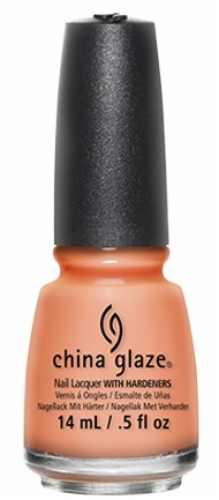 China Glaze Nail Lacquer-Sun Of A Peach