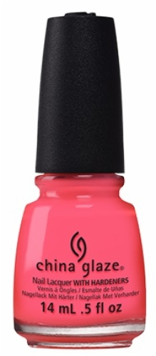 China Glaze Nail Lacquer-Red-Y To Rave