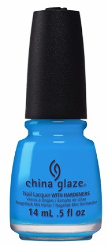 China Glaze Nail Lacquer-Dj Blue My Mind