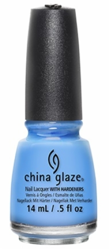 China Glaze Nail Lacquer-Secret Peri-Wink-Le