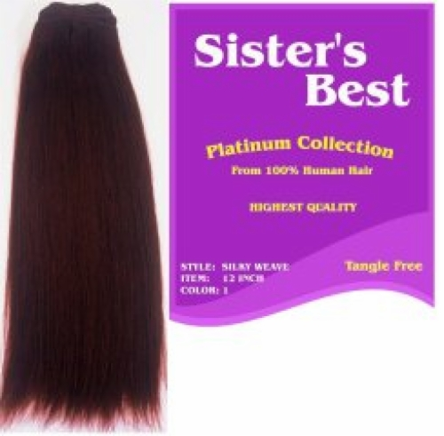 Silky Straight Weave 10