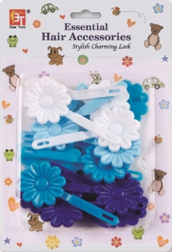 BARRETTES DAISY (BLUE ASSORTED)