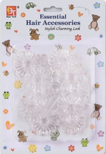 BARRETTES DAISY (CLEAR)