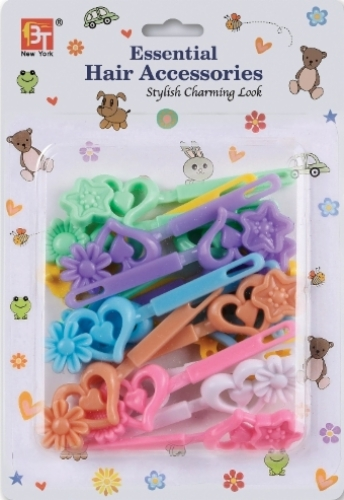 BARRETTES DAISY LOVE (PASTEL ASSORTED)