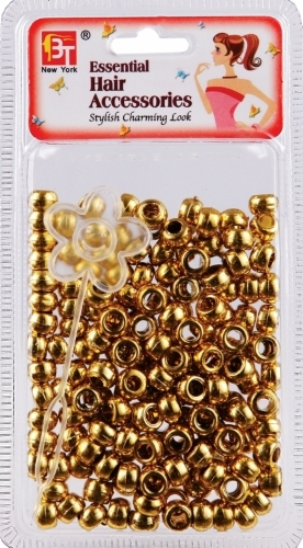 SMALL ROUND BEADS (GOLD)