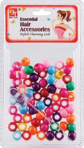 LARGE ROUND BEADS (HALLOOWEEN COLOR ASSORTED)