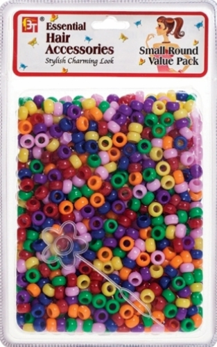 SMALL ROUND BEADS VALUE PACK (REGULAR ASSORTED)