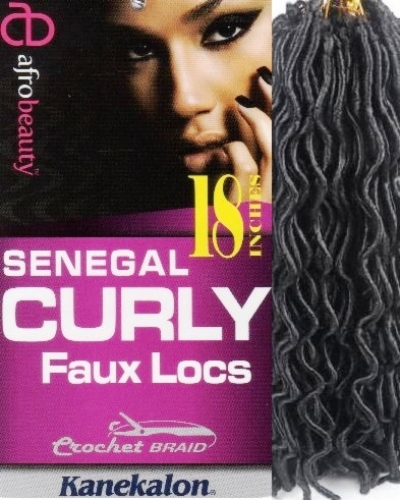Senegal Curly Faux Locs 18 inch - Afro Beauty Collection