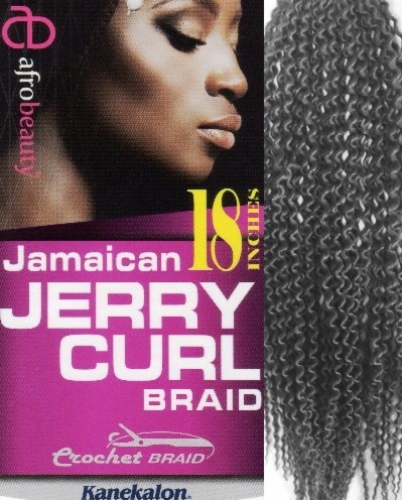 Jamaican Jerry Curl 18 inch - Afro Beauty Collection