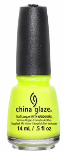 China Glaze Nail Lacquer-Yellow Polka Dot