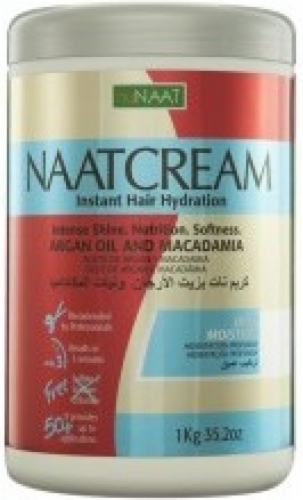 NuNaat Naat Cream Argan Oil and Macadamia Deep Moisture-35.2oz