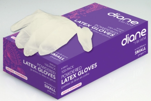 Latex Lightly Powdered Gloves Small 100 Count