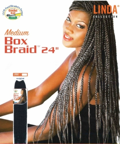 Medium Box Braids 24