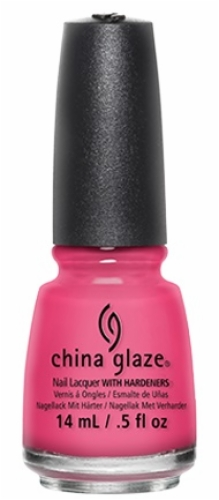 China Glaze Nail Lacquer-Shocking Pink