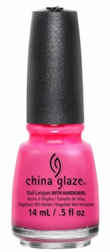 China Glaze Nail Lacquer-Pink Voltage