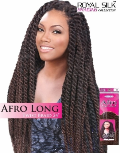 Afro Long Twist Braid 24