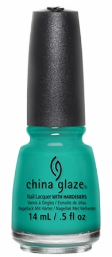 China Glaze Nail Lacquer-Turned up Turquoise
