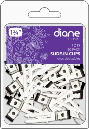Slide In Clips 1.75 inch 80 Pack