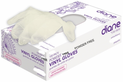 Vinyl Powder Free-Gloves Small 100 Count