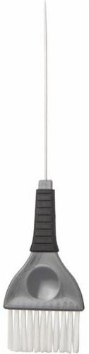 Pro Tint Brush with Metal Pintail-and Rubber Grip 2 inch Grey