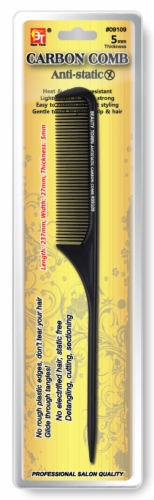 Tail Comb -Heat& Chemical Resistant Antistatic Carbon Comb